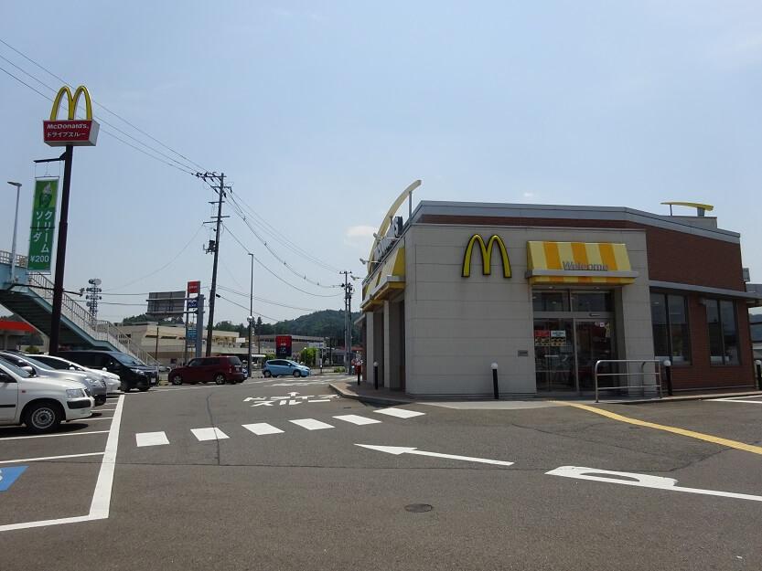 マクドナルド 4号線南福島店画像