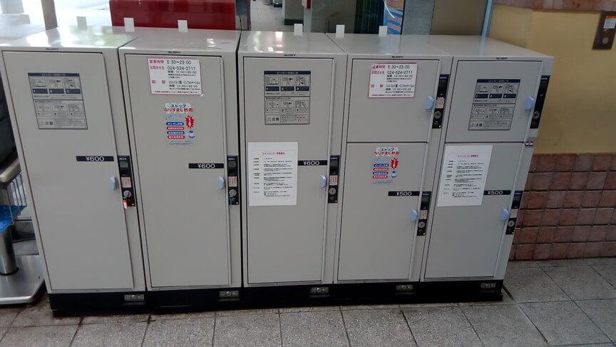 福島駅東口1階改札前:エントランスのコインロッカー画像3